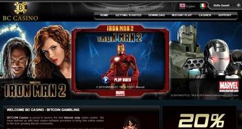BC Casino Home Page
