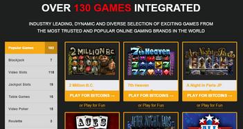 mBit Casino Slot Games
