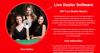 mBit Casino Live Dealer