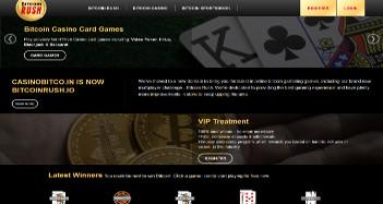 BitcoinRush Home Page