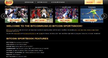 Bitcoin Rush Sportsbook