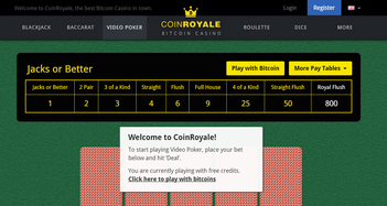 Coin Royale Casino Roulette