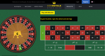 Coin Royale Roulette