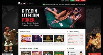 Betcoin Casino Home
