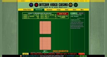 Bitcoin Video Casino Screen Shot