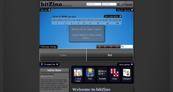 Bitzino Casino Home