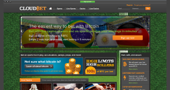 Cloudbet Casino Home