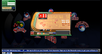 StrikeSapphire Casino Game Screen