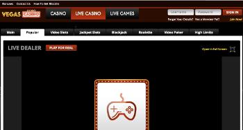 Vegas Casino Live Casino