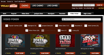 Vegas Casino Home Page