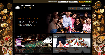 Anonymous Casino Home Page