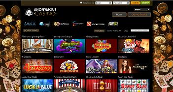 Anonymous Casino Slot Games