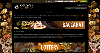 Anonymous Casino Games