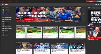 Bovada Casino Main Page