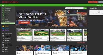 Bovada Casino Home Page
