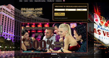 Dreamland Casino Home Page