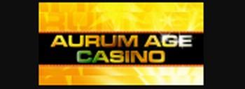 aurum age casino logo